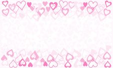 Free Valentine Card Background Stock Images - 17719914