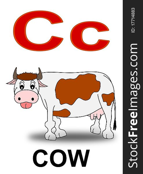 Letter C Cow - Free Stock Images & Photos - 17714883 ...