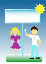 Free Girl And Boy Royalty Free Stock Images - 17720119
