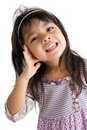 Free Portrait Of A Cute Girl Royalty Free Stock Images - 17724569