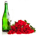 Free Red Roses On White Isolated Background Royalty Free Stock Images - 17727379