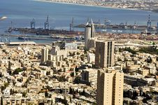 Free Haifa Cityscape Stock Photography - 17720032