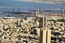 Haifa Cityscape Stock Photography