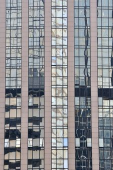Free Glass Wall Reflection Of Building Stock Images - 17720854
