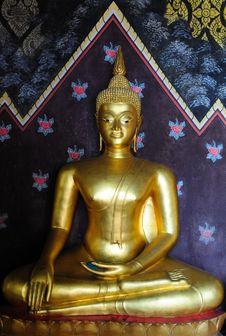Free Golden Buddha Image Stock Photography - 17721232