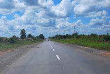 Free Endless Road In Kalimantan Stock Photo - 17721420
