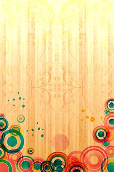 Free Abstract Colorful Card Royalty Free Stock Images - 17721819