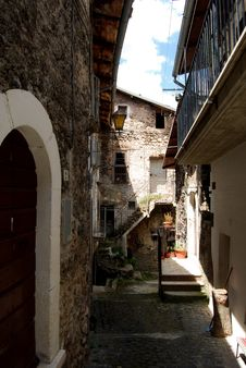 Free Historic Centre Of Assergi - Abruzzo - Italy Stock Images - 17723164