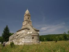 The Old Church Of Densus Royalty Free Stock Image