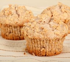 Free Muffin Closeup Royalty Free Stock Photos - 17723938