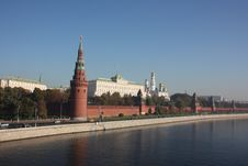 Free Moscow. Kremlin. Panorama. Royalty Free Stock Images - 17724429