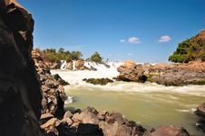 Free Water Fall In Laos Stock Photos - 17724843