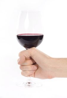 Free Glass Of Wine Stock Photography - 17724992