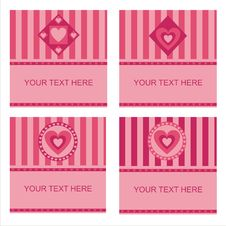 Free Cute Hearts Frames Royalty Free Stock Images - 17725139