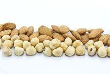 Free Various Nuts Royalty Free Stock Image - 17726326