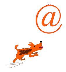 Free Dog And A Symbol Stock Photos - 17727073