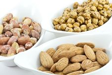 Free Various Nuts Royalty Free Stock Photography - 17728137