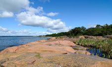 Free Rock Beach Stock Image - 17728411