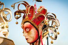 Free Venetian Mask Royalty Free Stock Image - 17728586