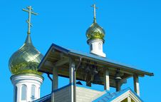 Free Domes Of Orthodox Church Stock Images - 17728624