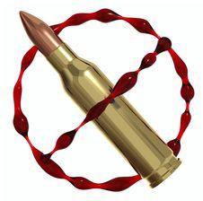 Free Anti War Symbol Royalty Free Stock Photo - 17728675