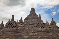 Free Borobudur Temple In Indonesia Stock Photography - 17729142