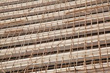 Free Bamboo Scaffolding Royalty Free Stock Image - 17729216