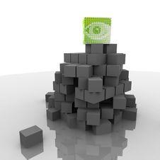 Free Social Pyramid. Royalty Free Stock Photo - 17729495