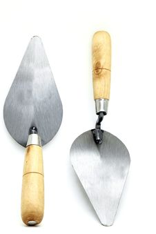 Free Construction Lute Trowels Stock Photo - 17729860