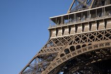 Free Eiffel Tower Base In Paris Stock Image - 17729891