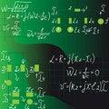 Free Formulas Stock Photo - 17734770