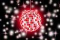Free Disco Ball Background Royalty Free Stock Photos - 17736298