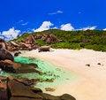 Free Tropical Beach At Seychelles Stock Photo - 17737880