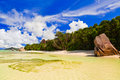 Free Beach Source D Argent At Seychelles Stock Images - 17737884
