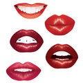 Free Lips. Royalty Free Stock Photos - 17738328