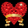 Free Abstract Heart With A Ribbon Royalty Free Stock Photos - 17738538