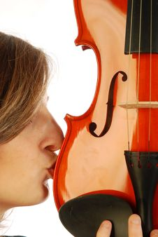 Free Woman With Violin 034 Stock Image - 17730141