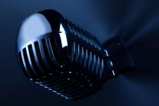 Free Retro Mic Royalty Free Stock Photo - 17730825
