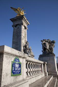 Free Alexandre III Bridge, Pairs Stock Photos - 17730873