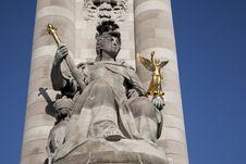 Free Alexandre III Bridge, Paris Stock Photo - 17731040