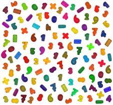 Free Mathematical Symbols Stock Images - 17731154