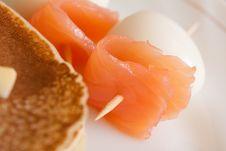Free Pancake Breakfast Royalty Free Stock Image - 17731676