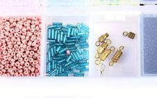 Free Beads In A Box Stock Image - 17731681