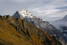 Free Jungfraw Massive, Swiss Alps Stock Photography - 17732182