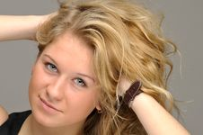 Free Teen Girl Close-up Royalty Free Stock Image - 17732396