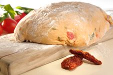 Free Leavened Dough For Pizza Stock Photos - 17734543