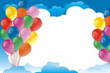 Free Balloons Royalty Free Stock Photography - 17734607