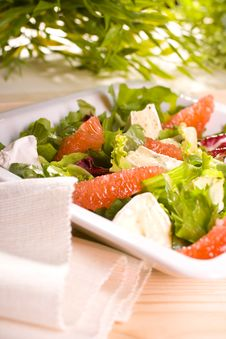Free Salad Royalty Free Stock Photo - 17734645