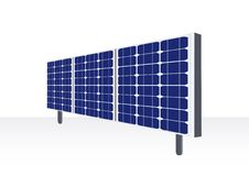 Free Solar Energy Panels Royalty Free Stock Photo - 17734765