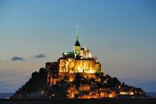 Free Mont S. Michel Stock Photo - 17734830